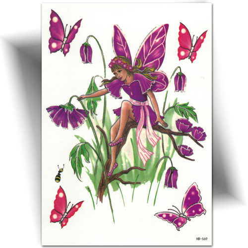 Tatouage purple fairy