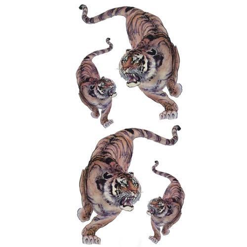 Décalcomanie Tigre