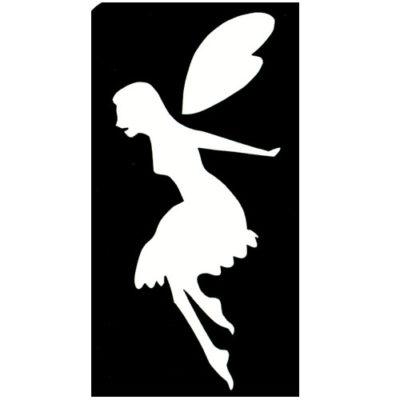 Pochoir-adhésif-fée volante