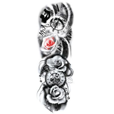 Tatouage-temporaire-manchette-Love-Birth