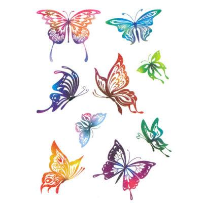 Tatouage-temporaire-papillon-paillette