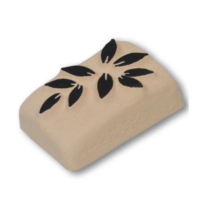 pierre à tatouer feuille olivier