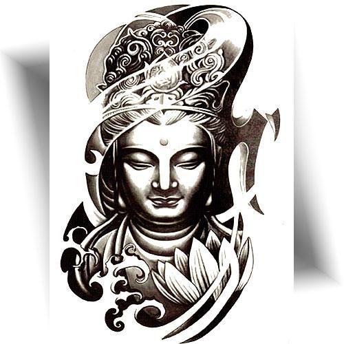 Tatouage temporaire Bouddha