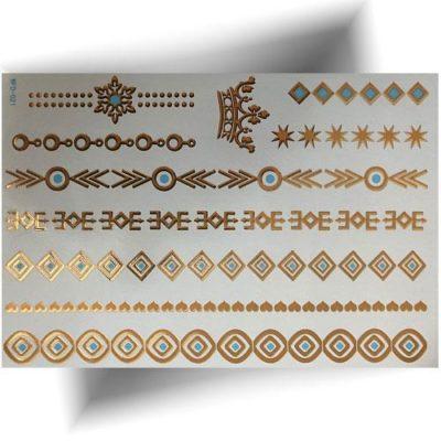 Tatouage métallisé 3D bracelets