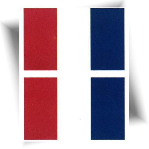 Tatouage provisoire drapeau France