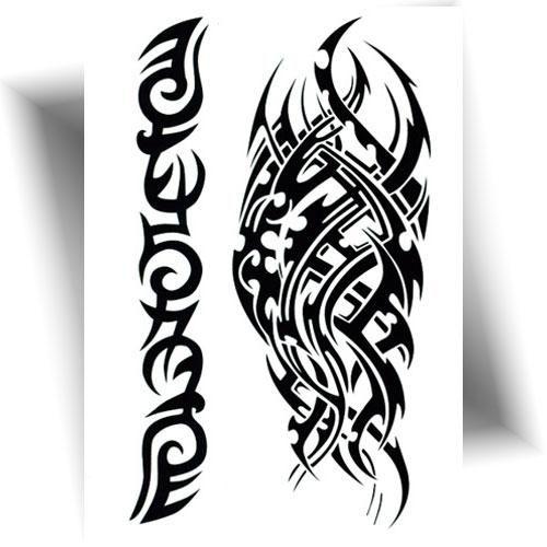 Tatouage provisoire tribal Mikiti