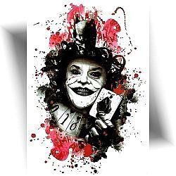 tatouage éphémère joker Mikiti