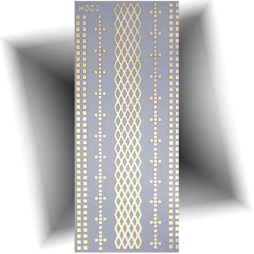 Tatouage métallique bracelets fins