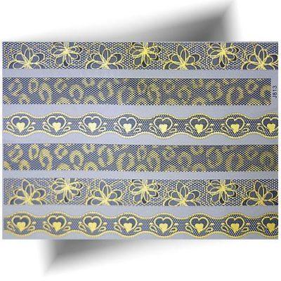 Tatouage métallisé dentelle panthère