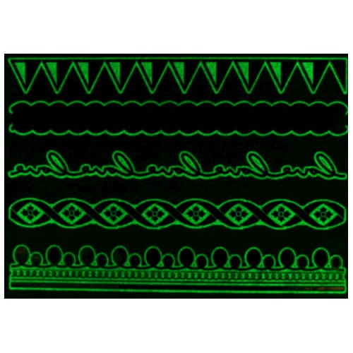 Tatouage phosphorescent Bracelets love Mikiti