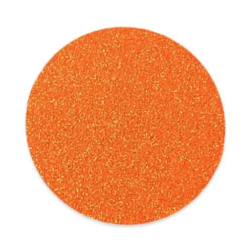 Paillette cosmétique - orange - 50 gr