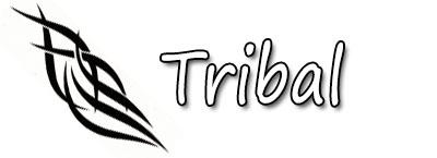 Pochoir adhésif tribal