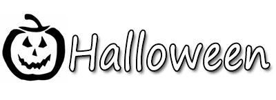 Pochoirs adhésifs Halloween