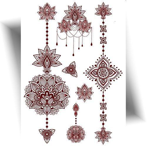 Tatouage-effet-henné-mandala