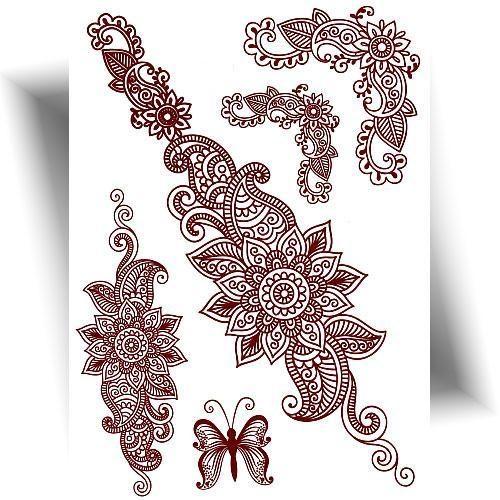 Tatouage henné oriental