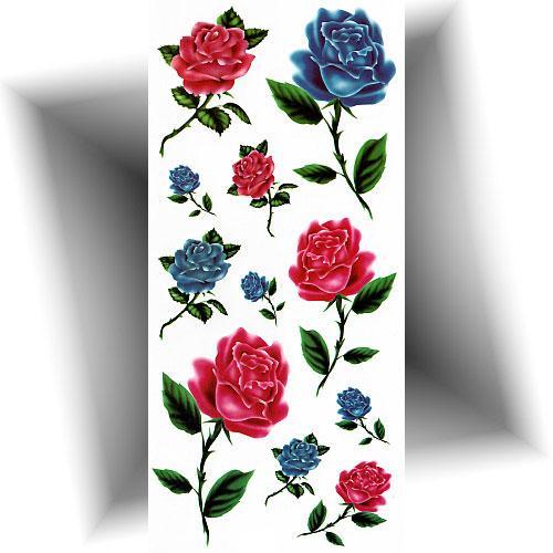 Tatouage-provisoire-petites-roses