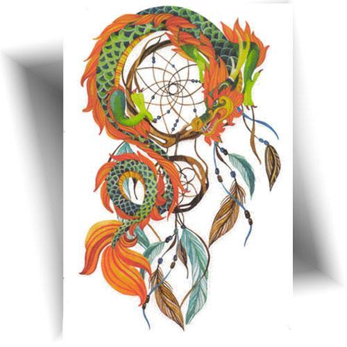 Tatouage-temporaire-dreamcatcher