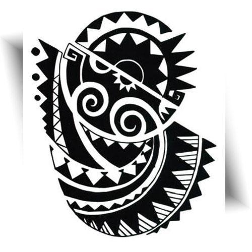 Tatouage-éphémère-Polynésien