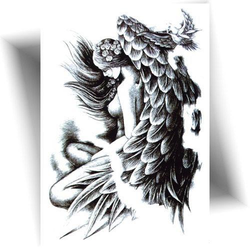 Tatouage-provisoire-ange