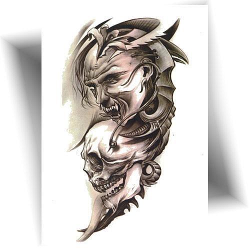 Tatouage-provisoire-démons