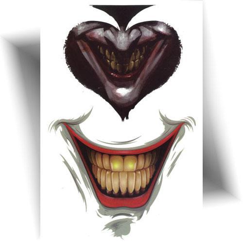 Tatouage-provisoire-smile-joker