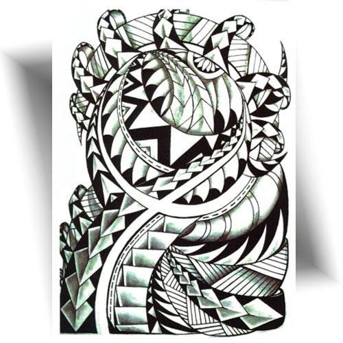Tatouage-temporaire-Polynésia