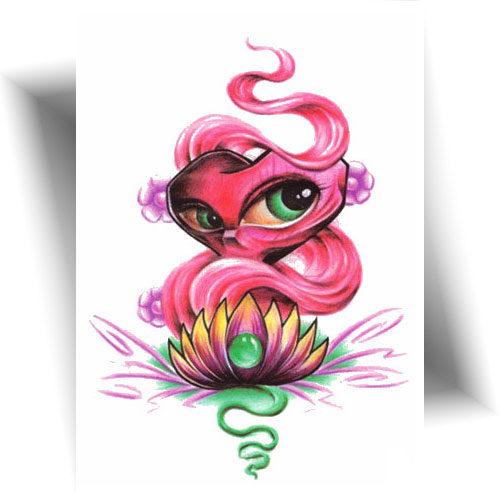 Tatouage-temporaire-esprit-lotus