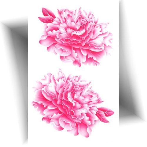 Tatouage-temporaire-fleurs-roses