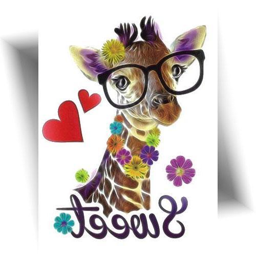 Tatouage-temporaire-girafe-pop