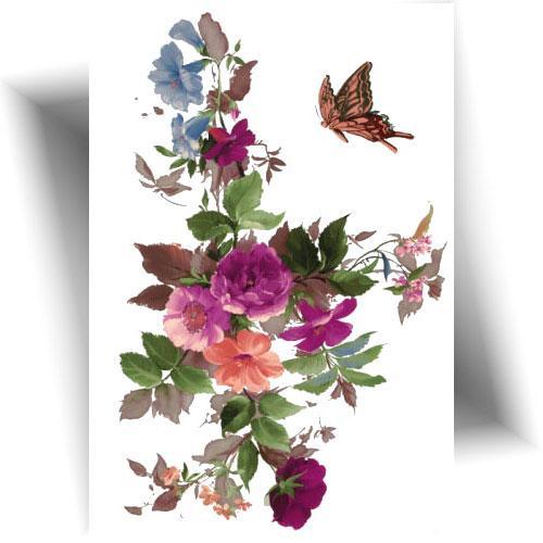 Tatouage-temporaire-jolies-fleurs