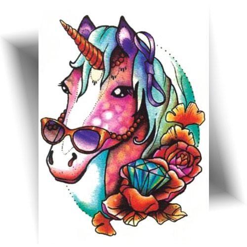 Tatouage-temporaire-licorne-fun