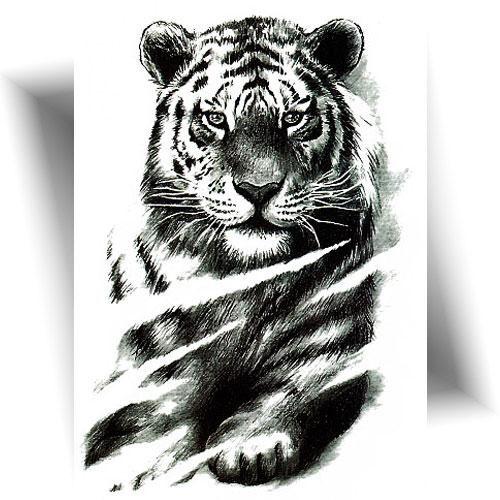 Tatouage-temporaire-tigre
