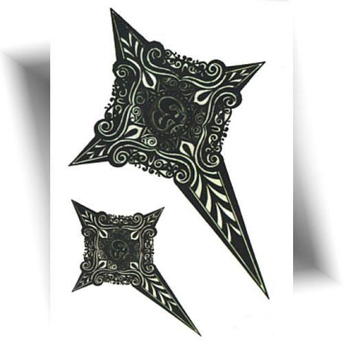 Tattoo-provisoire-croix-phosphorescente