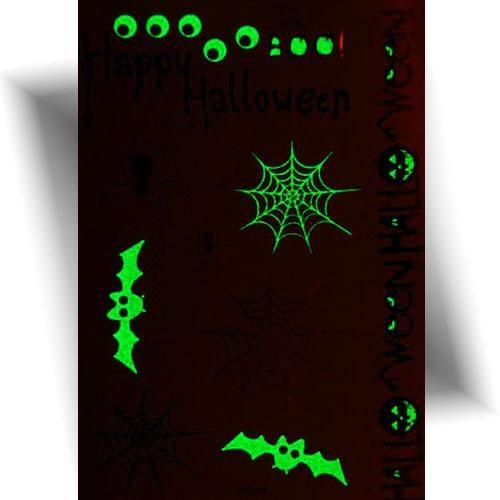 Tatouage-phosphorescent-araignée-Halloween