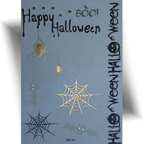 Tatouage-temporaire-araignée-Halloween