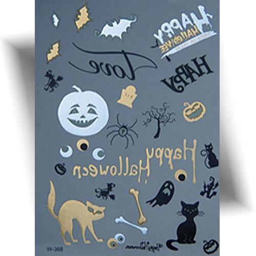 Tatouage éphémère motifs Halloween