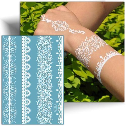 Tattoo provisoire henné blanc
