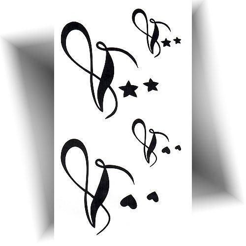 Mini-tatouage-éphémère-infini