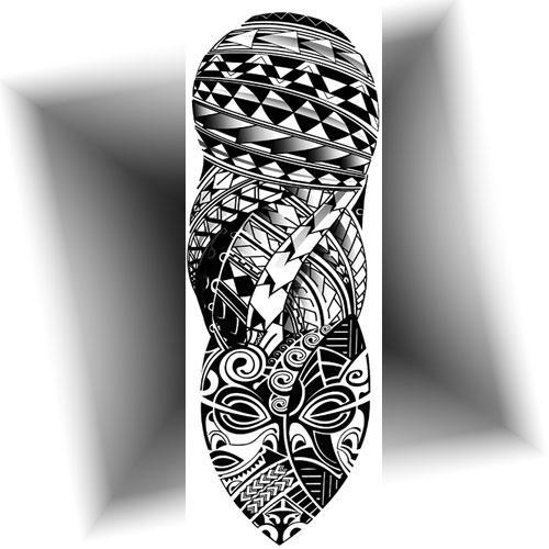 Tattoo manchette Maori