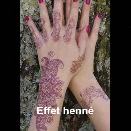 Couleur proche du henné