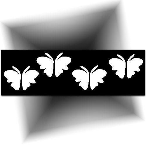 Pochoir adhésif - petits papillons